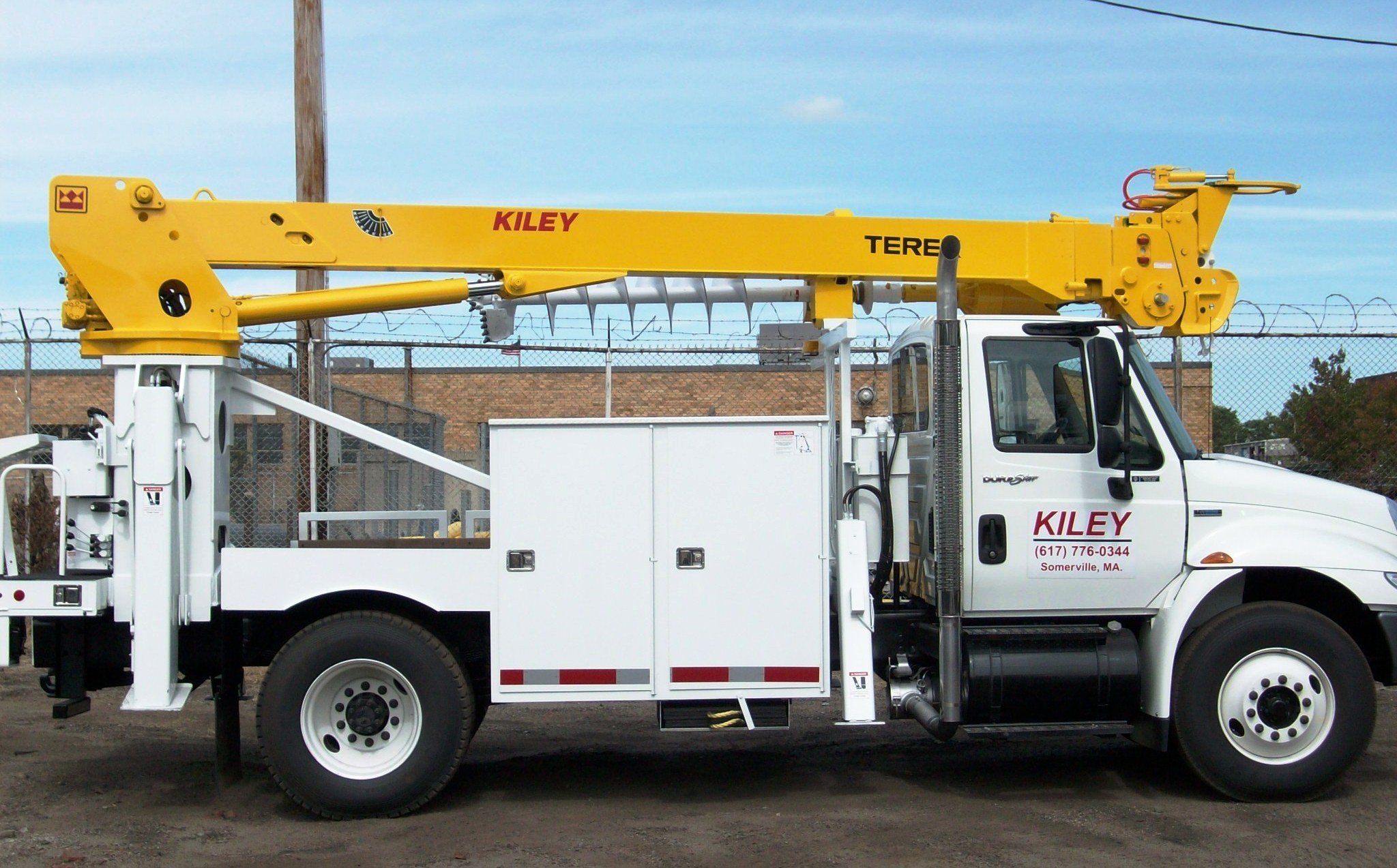 James A Kiley, Co » Utility Aerial Device and Digger Derrick